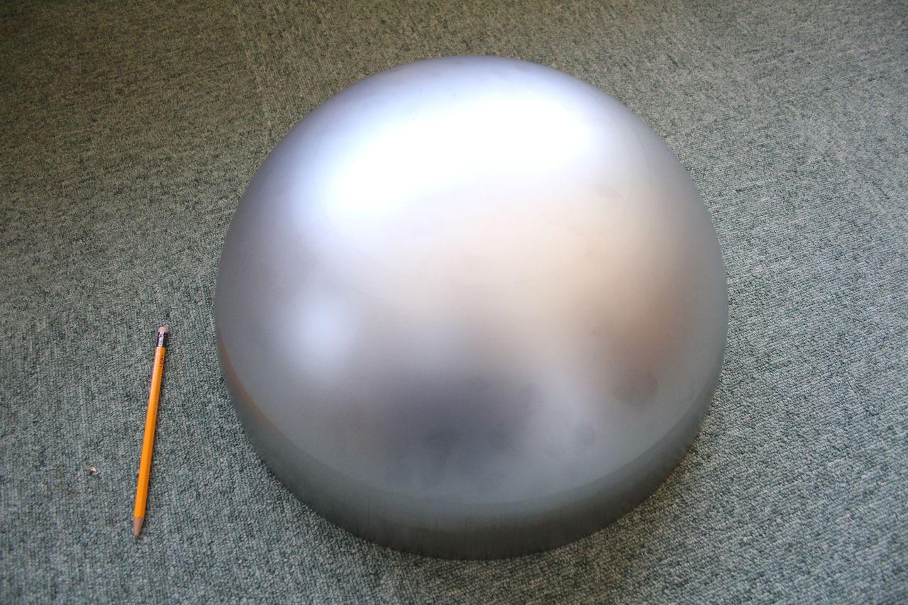 φ400×t1.5 半球キャップ画像