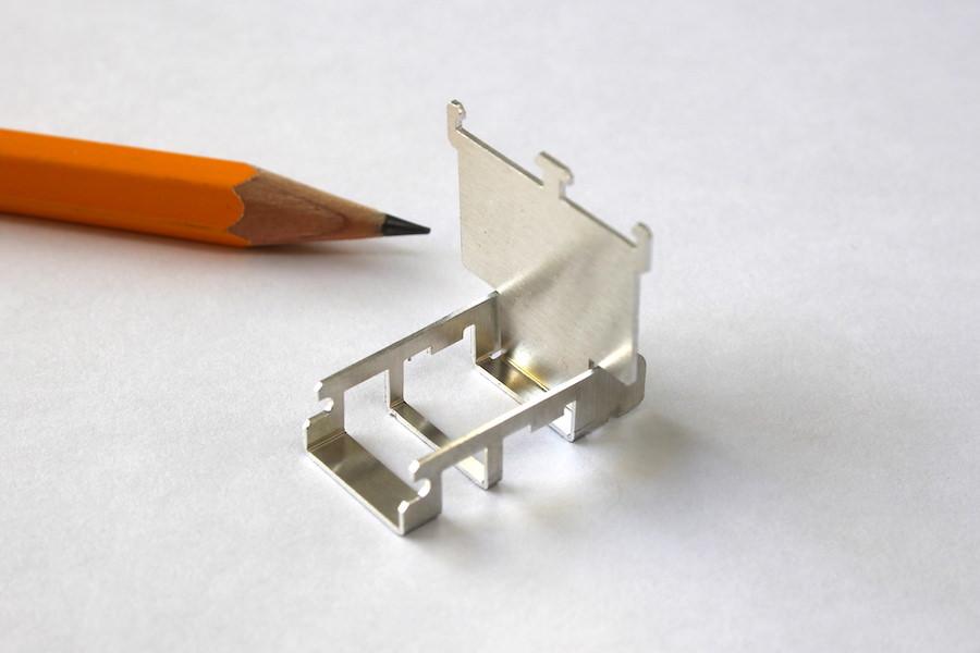 アルミの薄板加工(A1050 t0.5)