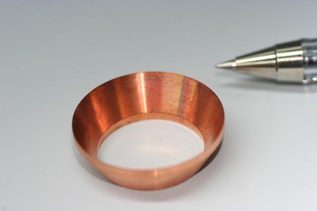 銅スリーブ(エコマテリアル部品)画像