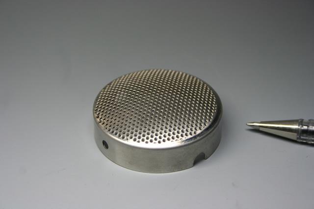 ヒーターキャップ<半導体製造装置部品>画像