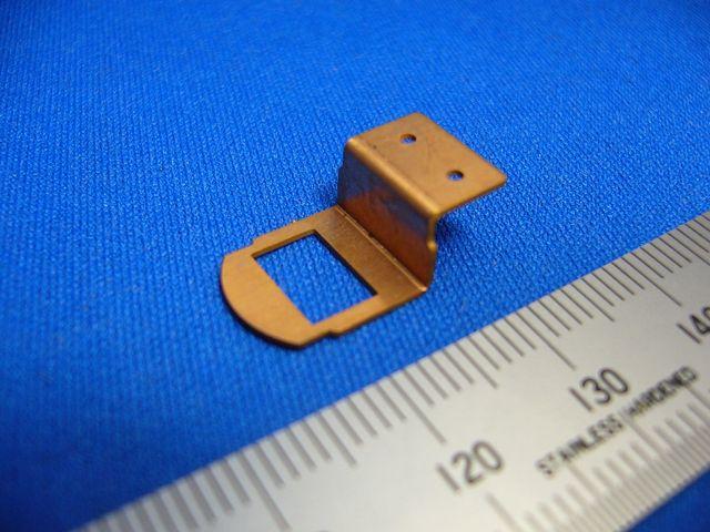 銅 電極板製作画像