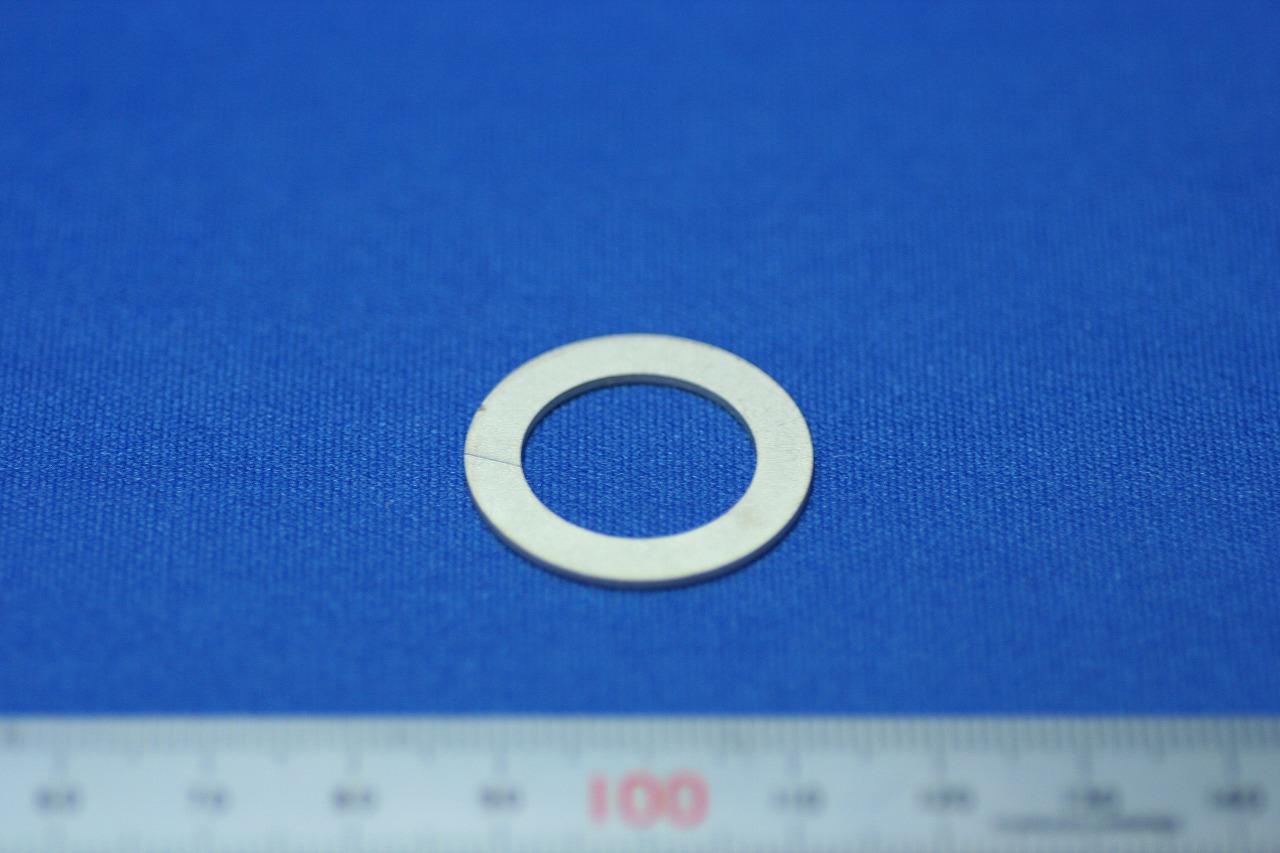 精密板金 シム板(スペーサー)SUS304 1/2H t0.9mm画像