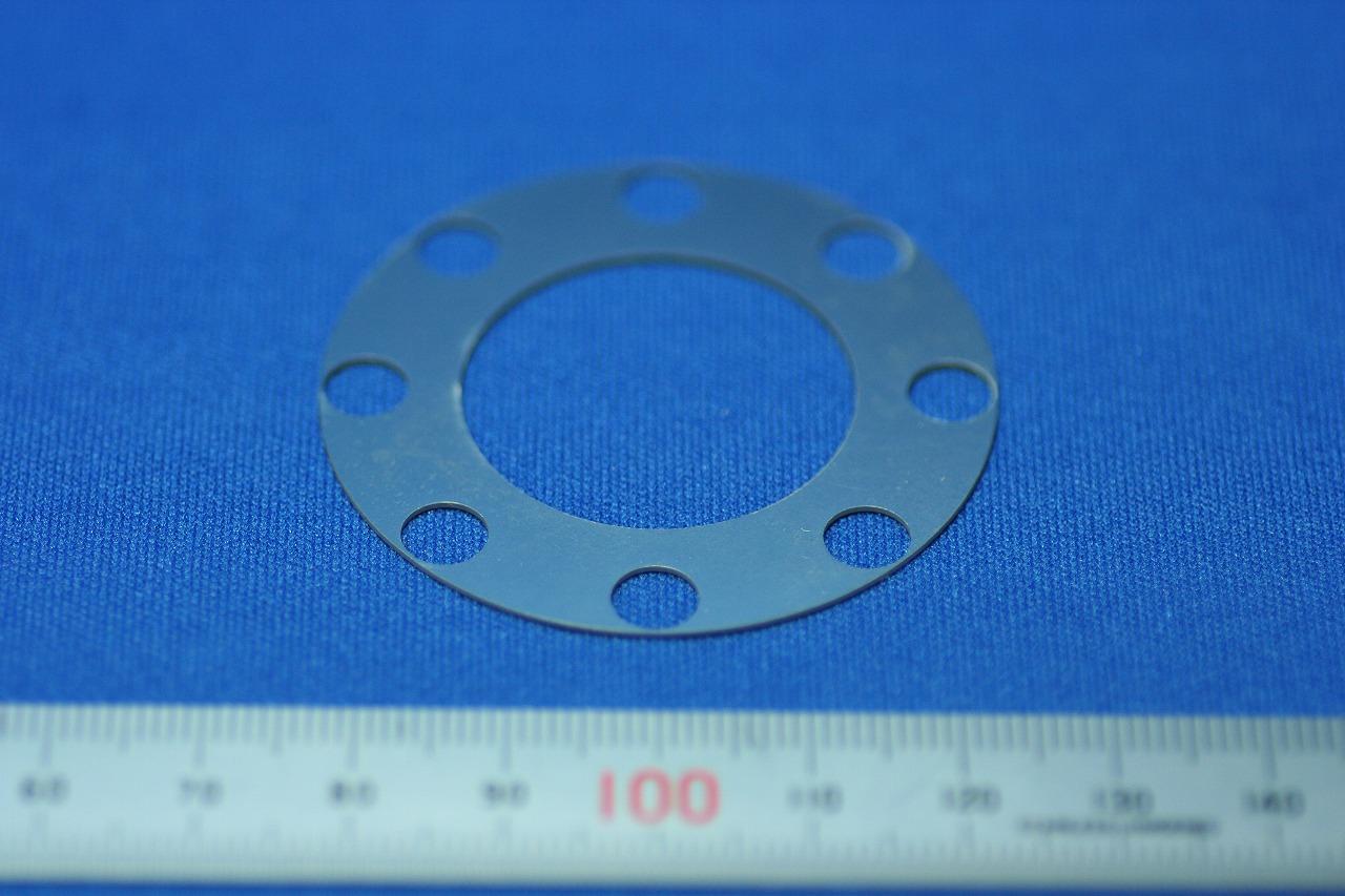 精密板金部品 シム板(スペーサー)SUS304 1/2H  t0.1mm