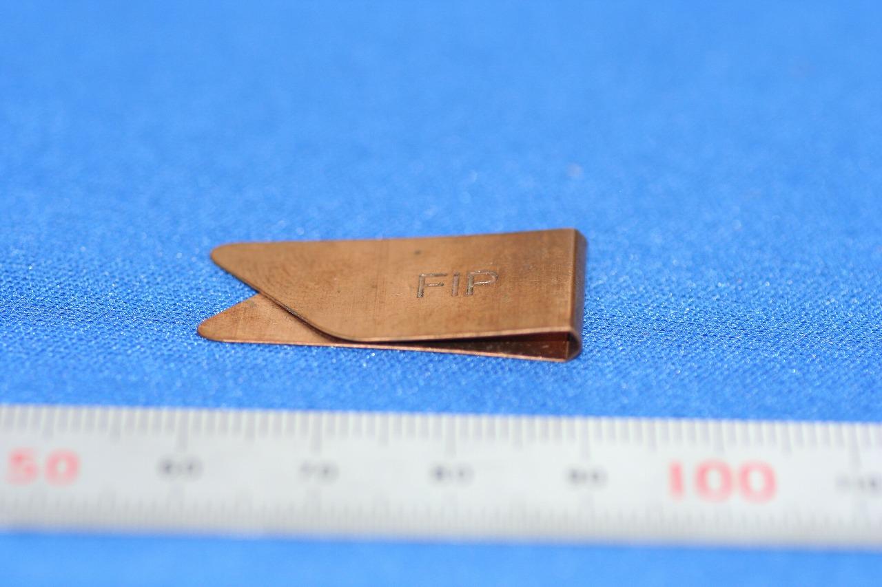 プロモクリップ製作 りん青銅板バネ(板ばね)画像