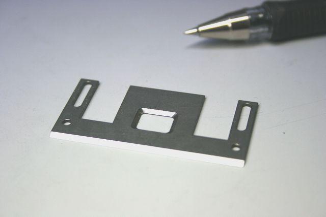機械部品スクレーバー製作(精密切削加工)画像