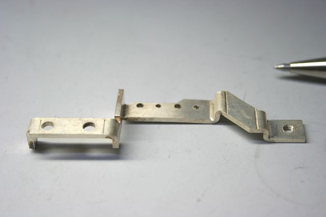 銅板 電極の製作(薄板金属加工)画像