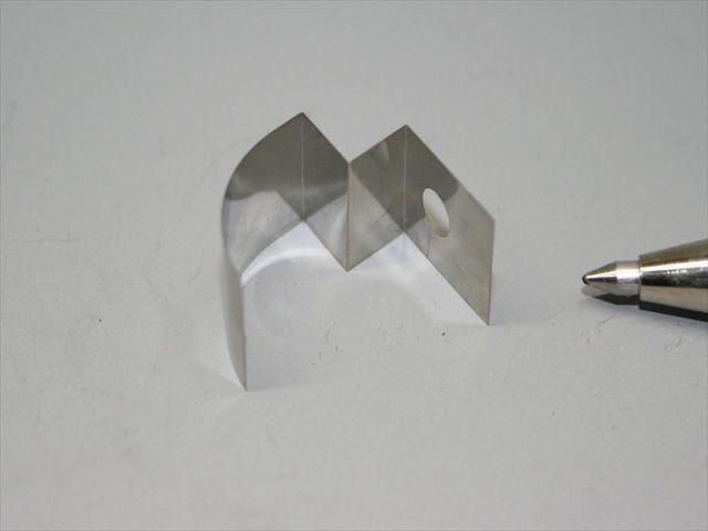 SUS304 t0.05板バネ(板ばね)の曲げ加工画像