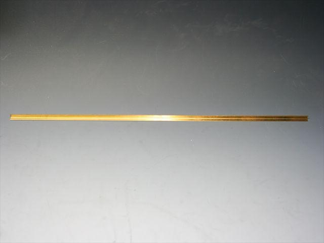 曲げ方向長さ300mm 真鍮製L字アングル画像