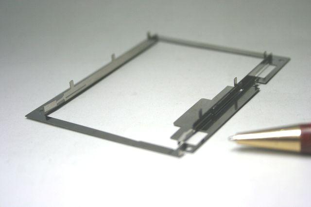 カードリーダー・シャーシ試作品製作(薄板金属加工)画像