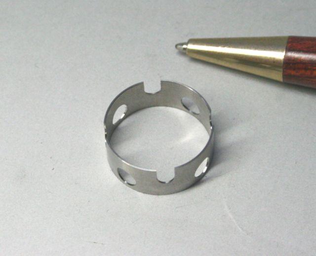 ステンレス製 タイプC カラー試作(精密切削加工)