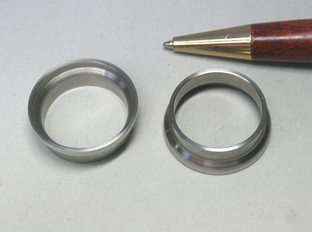 ステンレス製 タイプA カラー試作(精密切削加工)