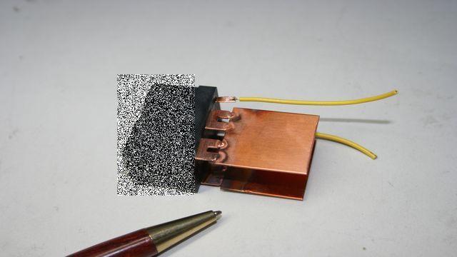端子 ブスバー(バスバー)接合  試作画像