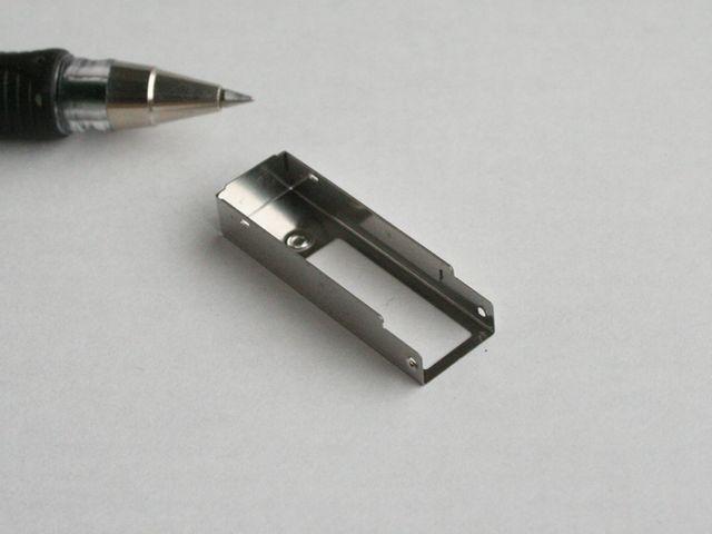 ステンレス製 小型ボトムケース - 試作・限定製作画像