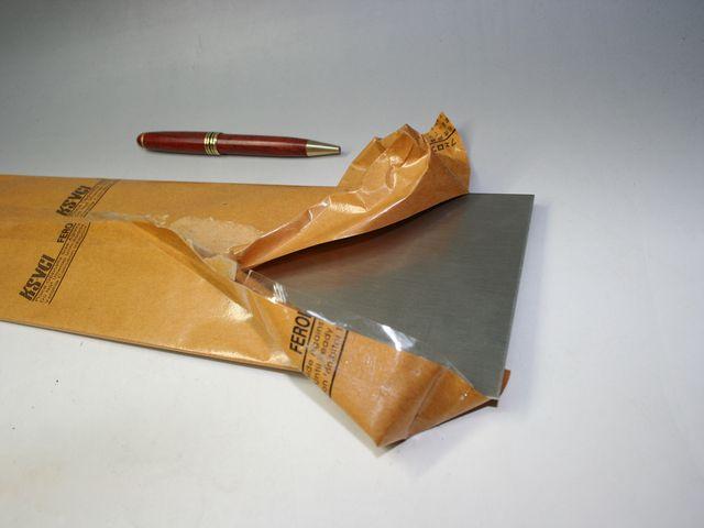 純ニッケル 板材の材料販売画像