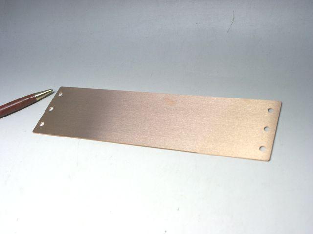 ベリリウム銅 スペーサー(ライナー)エッチング加工画像