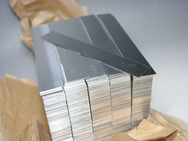 t0.1 アルミ板の寸法カット - 材料販売画像