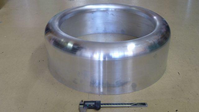 アルミ ヘラ絞り加工品(φ550)画像