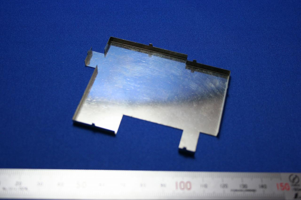 精密板金部品 SUS304 1/2H  t0.25画像