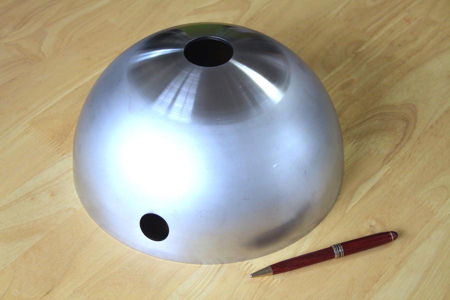 Φ200 半球の穴開け加工