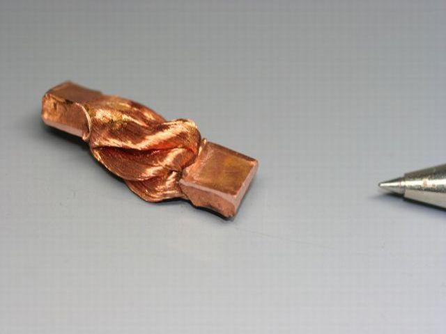 リッツ線のヒュージング画像