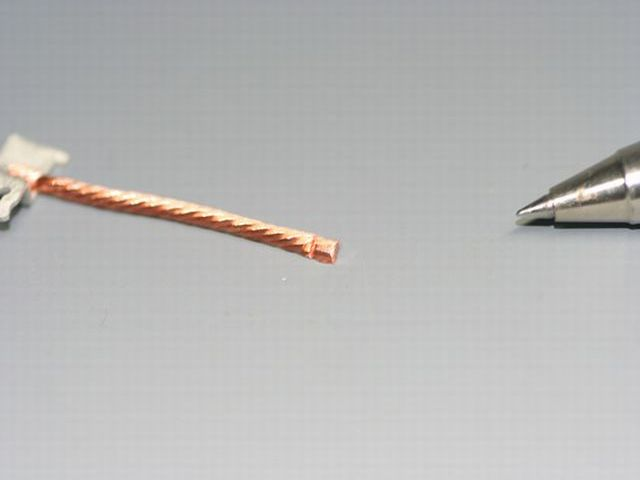 リード線のヒュージング画像