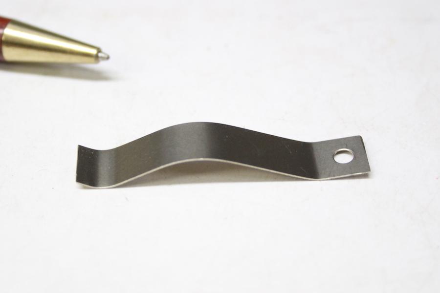 板バネ(SUS304 CSP t0.5)テンパー処理品画像