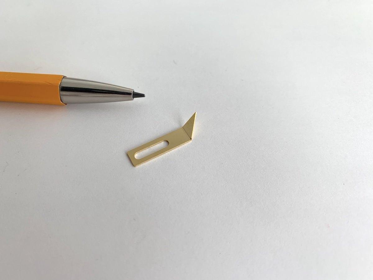 接点バネ(リン青銅+金メッキ)画像