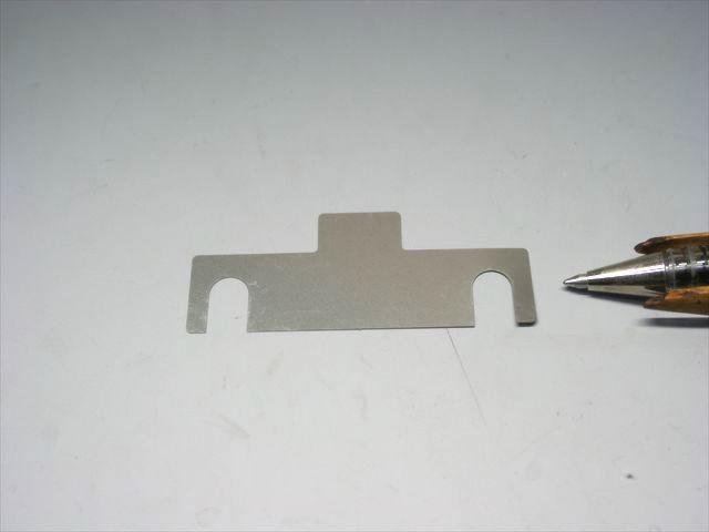 タブ付き 高さ調整用シム(SUS316L t0.05)画像