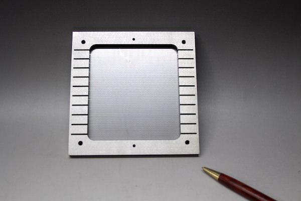 ワイヤーカット加工+スポット溶接加工事例画像